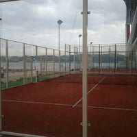 Photo taken at Clube de Padel by Pedro P. on 12/19/2012