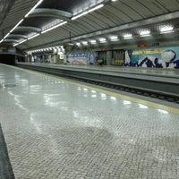 Photo taken at Metro Olivais [VM] by Pedro P. on 9/28/2012