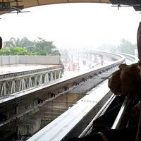 Photo taken at RapidKL Imbi (MR5) Monorail Station by Nur Izza on 10/13/2012