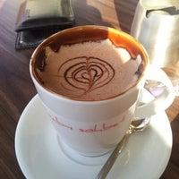 Photo taken at Bab-ı Sohbet Cafe by Tac Mahal on 1/8/2013