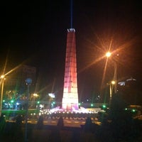 Photo taken at Heroes' Square by Ева С. on 9/21/2012