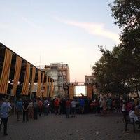 Photo taken at Plaça Catalunya by @ʇǝu@ on 9/11/2016