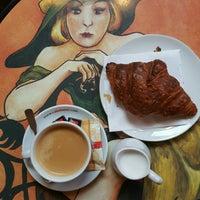Photo taken at Au Croissant Doré by Irem Y. on 1/17/2017