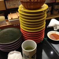 1/5/2013에 Satoru I.님이 回転寿し 和楽 市場店에서 찍은 사진