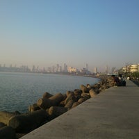 Photo taken at Marine Drive by Jayottam D. on 12/22/2012