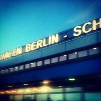 Photo taken at Berlin Schönefeld Airport (SXF) by q q. on 7/13/2013
