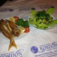 2/24/2013 tarihinde Barış D.ziyaretçi tarafından Kordon Restaurant'de çekilen fotoğraf