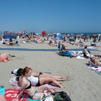 Photo taken at Rockaway Beach - 86th Street by Xochi A. on 6/1/2013