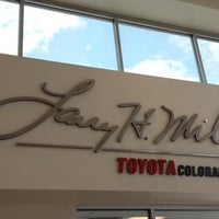 Photo taken at Larry H. Miller Toyota Colorado Springs by Jay F. on 8/13/2013