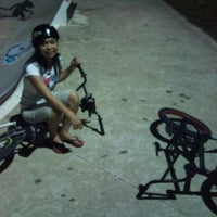 Photo taken at The Jungle Skatepark, Likas by MukGui C. on 9/17/2012