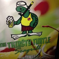 Photo taken at Thirsty Turtle Seagrill by Zingwife on 6/13/2013