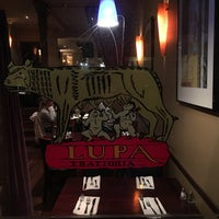 Photo taken at Lupa Trattoria by Andrew B. on 1/30/2017