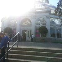 Photo taken at Monet's Garden at The New York Botanical Garden by Simon on 10/21/2012