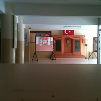 Photo taken at Piri Reis Anadolu Lisesi by Ceren K. on 3/19/2013