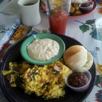 Photo taken at The Flying Biscuit Cafe by Adam V. on 3/29/2013