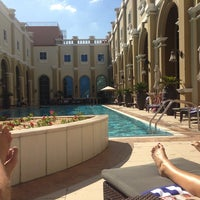 Photo taken at Safar Spa @ Ibn Battuta Hotel by DigitalAgent O. on 12/26/2013