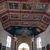 Photo taken at Templo de San Diego de Alcalá by Miguel O. on 3/2/2014