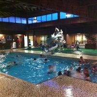 Photo taken at Howard Johnson Hotel by Ian G. on 7/6/2013