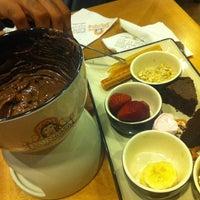 Photo taken at Chocolateria San Churro by Chandani on 11/5/2012