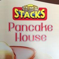 Photo taken at Stacks Pancake House by Amy Z. on 3/17/2013