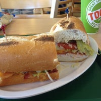 Photo taken at TOGO'S Sandwiches by Nick S. on 12/10/2012