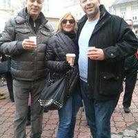 Photo taken at Magistratski trg by Olga B. on 1/6/2014