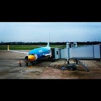 Photo taken at Udon Thani International Airport (UTH) by Samart C. on 6/23/2013