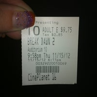 Photo taken at Cineplanet 16 by Margaret  T. on 11/16/2012