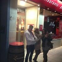 Photo taken at Restaurante El Buey by Javier on 2/23/2013