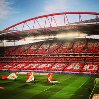 Photo taken at Estádio do Sport Lisboa e Benfica by Miguel on 4/21/2013