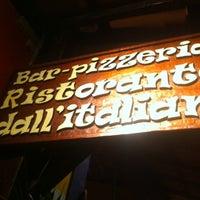 Photo taken at Pizzeria Dall'Italiano by Fabio M. on 11/22/2012