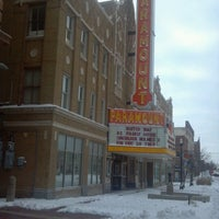 Photo taken at Historic Paramount Theatre by Bill W. on 12/27/2012