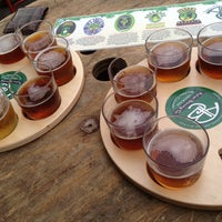 Photo taken at Asher Brewing Company by Aaron on 8/9/2013