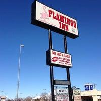 Photo taken at Flamingo Inn by Tanja on 2/13/2013