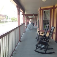 Photo taken at The Porches Inn at Mass Moca by Tanja on 7/29/2014
