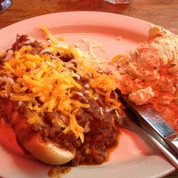Photo taken at Texas Chili Parlor by Nathan M. on 10/11/2012