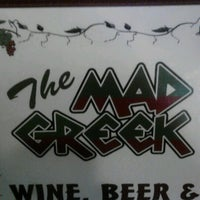 Photo taken at Mad Greek Restaurant by Joey on 10/13/2012