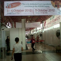 Photo taken at JIExpo Hall A by Pratiwi S. on 10/3/2012