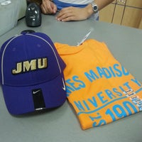 Photo taken at JMU Bookstore by Glo L. on 6/9/2014