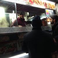 Photo taken at Halal Food Stand (across from Pizza Wagon) by Jason H. on 11/16/2012