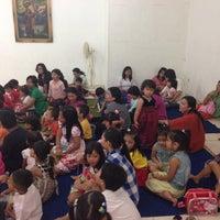 Photo taken at Gedung Yos Sudarso - Gereja Katolik Santa Anna by Baren Sipayung on 5/18/2014
