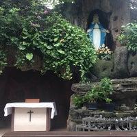 Photo taken at Gereja Kristus Salvator by Baren Sipayung on 7/11/2014