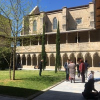 Photo taken at Facultat Lletres Universitat de Girona by Aggeliki Y. on 4/3/2017