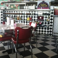 Photo taken at Greg and Amy's Twist and Shout 50's Diner by Belinda on 8/5/2013