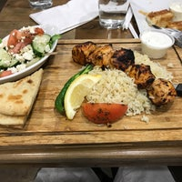 Photo taken at Greek on Cary by Adam K. on 4/1/2017