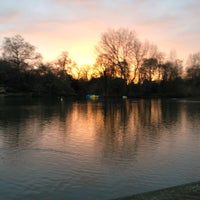 Photo taken at Battersea Park by Kristina K. on 2/2/2013