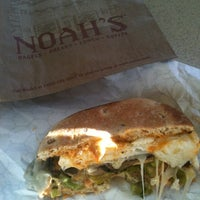 Photo taken at Noah's Bagels by Ana C. on 9/23/2012