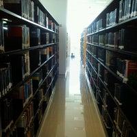 Photo taken at Biblioteca Central Universitaria by Lorenzo O. on 10/4/2012