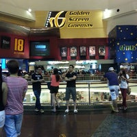 Photo taken at Golden Screen Cinemas (GSC) by aaron c. on 4/13/2013
