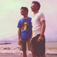 Photo taken at Pantai Surabaya by Toar Christian S. on 4/3/2013